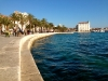 The promenade in Split, Croatia